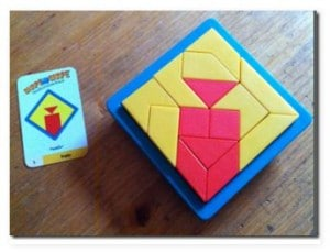 Spieltipp: Shape by shape, spiel, Wahrnehmung, Denken, Logik, Eltern, Kinder, Tipp