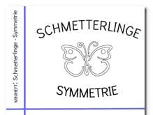 Schmetterlinge–Symmetrie