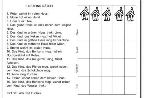 Einsteins Rätsel