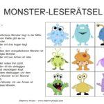 Monster Leserätsel