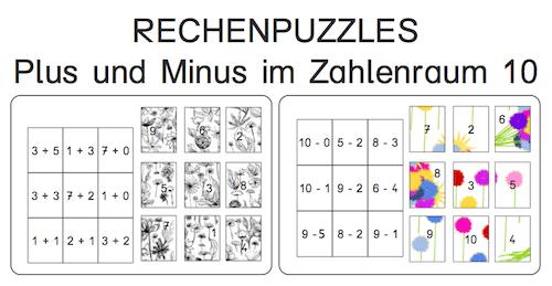 Mathepuzzle, Mathe, rechnen, Eltern, Kinder, kostenlos, Dyskalkulie, AFS-Methode