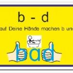 Unterschied von B und D