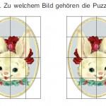 Schöne Bilder und ein Puzzle zu Ostern