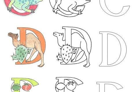 Picturalis, Schrift, Schönschrift, Pelikan, Arbeitsblatt, Bilder, Unterricht, Material