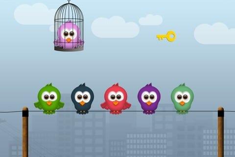Phonetic Birds, App, akustische Wahrnehmung, auditive Wahrnehmung, Legasthenie, Dyskalkulie, Eltern, Kinder, Lernen, iPad, iPhone, iPod