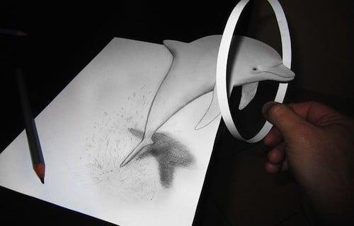 3D-Zeichnung, kreativ, Alessandro Diddo