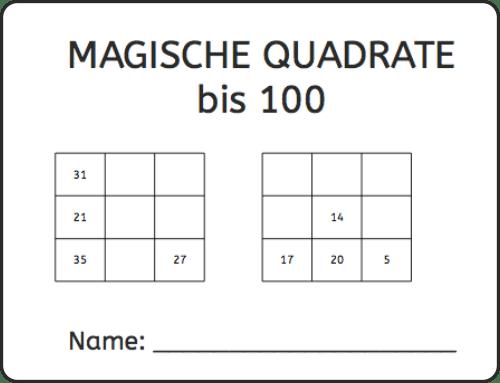 Magische Quadrate: 3×3