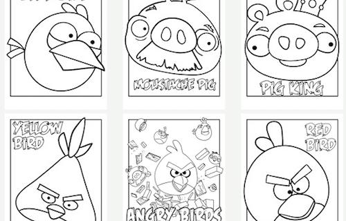 Angry Birds, Malvorlagen, Basteln, Ideen, kreativ, Linktipp, Eltern, Kinder