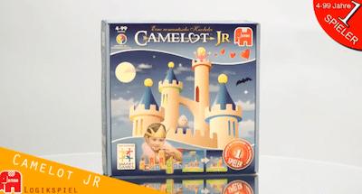 Camelot, Camelot Junior, Spiel, Logik, Knobelei, Wahrnehmung, Legasthenie, Dyskalkulie, Räumliche Wahrnehmung, Eltern, Kinder