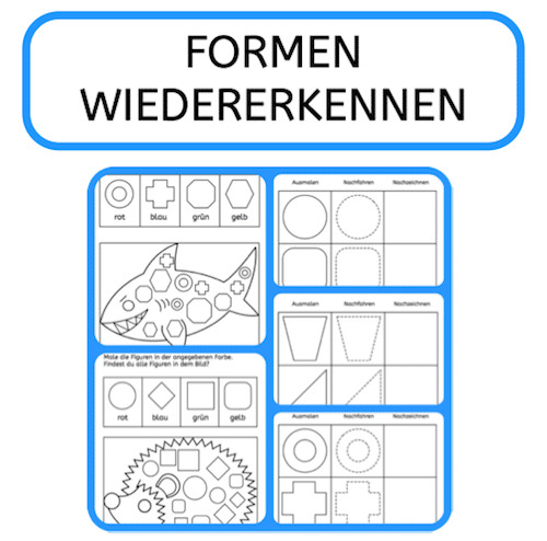 Formen wiedererkennen