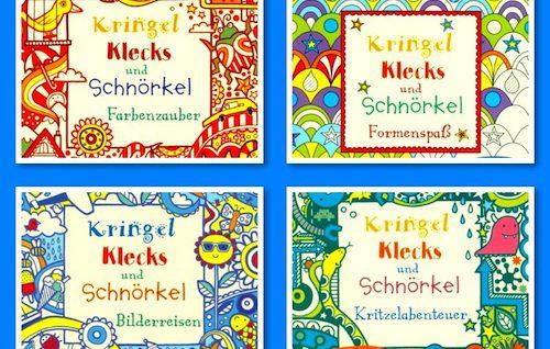 Kringel, Klecks, Schnörkel, Doodle, kreativ, malen, Wahrnehmung, Buchtipp, Eltern, Kinder, Legasthenie, Dyskalkulie