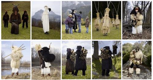 Wilder Mann, Fotoreihe, Halloween, Charles Freger