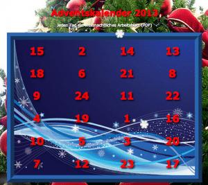 Adventskalender, Advent, kostenlos, Arbeitsblatt, Wahrnehmung, Legasthenie, Dyskalkulie, Eltern, Kinder