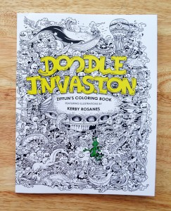 Doodle Invasion, ausmalen, kreativ, Doodle, doodeln, Wahrnehmung, Legasthenie, Dyskalkulie