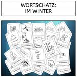 Wortschatz: Im Winter