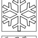 Winterliche Malvorlagen
