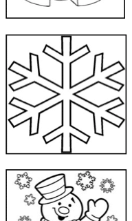 Winter, Weihnachten, Malvorlagen, kreativ, malen