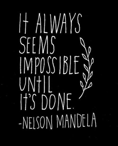 Nelson Mandela, Bildung