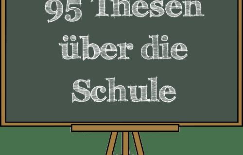 95 Thesen, Schule, Bildung, Annamaria Testa, Marisa Herzog, Lehrmittelperlen, Diskussion