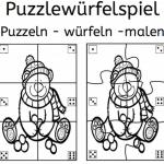 Puzzlewürfelspiel (bis 6)