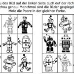 Gespiegelte Roboterpaare finden