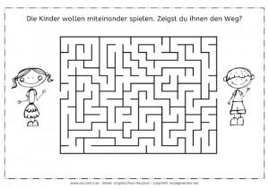 Labyrinth, Kinder, Eltern, Arbeitsblatt, kostenlos, visuelle Wahrnehmung, räumliche Wahrnehmung, Legasthenie, Dyskalkulie