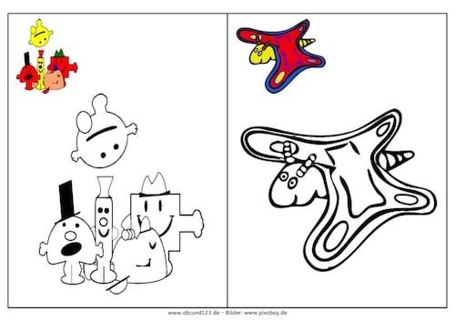 Nachmalbuch, Malvorlage, malen, kreativ, Kinder, Eltern, kostenlos