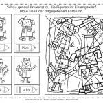 Roboter im Liniengewirr