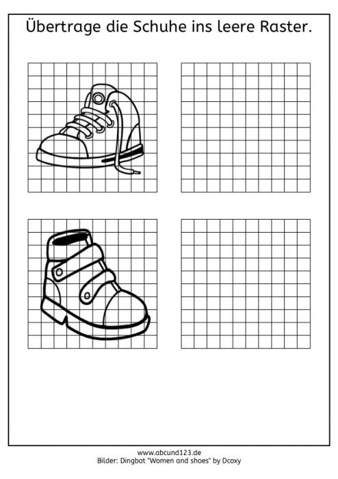 Wahrnehmungstraining mit Schuhen