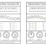 Tägliches Mathe-Training bis 100