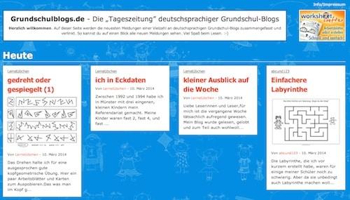 Blogs, Grundschulblogs, Grundschule, Material, Arbeitsblätter, Lehrer, Vernetzung, Worksheet Crafter, Fabian Röken