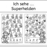 Ich sehe … Superhelden!