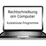 Rechtschreibung am Computer