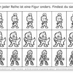 Minihelden: Finde den Unterschied