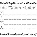 Muttertag Schreibanlässe