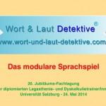 Sprachentwicklungsstörungen und ein Sprachförderkonzept