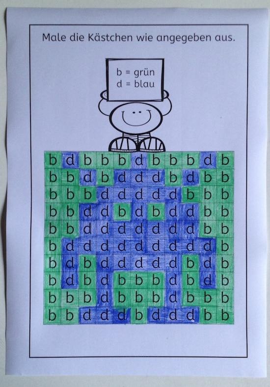 u00c4hnliche Buchstaben und Ziffern [Pixelbilder]