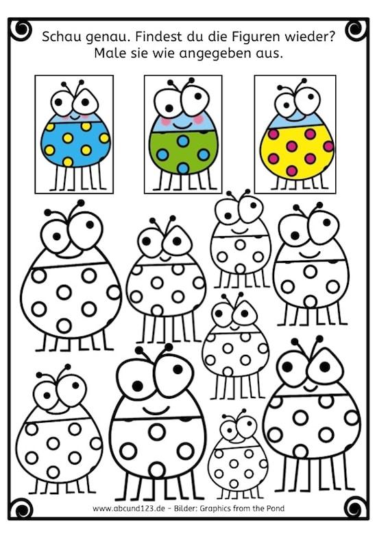 Erkennst du die Figur wieder, Schau genau, Legasthenie, LRS, Dyskalkulie, Eltern, Kinder, Lehrer, Schule, Grundschule, Vorschule, Förderschule, Stephany Koujou, From the pond, Legasthenietraining, Dyskalkulietraining, AFS-Methode, visuelle Wahrnehmung, Sinneswahrnehmungen