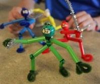 Ninja und Prinzessinnen, Feinmotorik, kreativ, Hand-Auge-Koordination, Eltern, Kinder