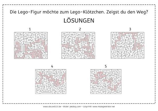 Lego-Labyrinthe, Lego, Labyrinthe, Wahrnehmung1, Wahrnehmung, Legasthenie, Dyskalkulie, Download1, Eltern, Kinder, kostenlos