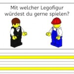 Mit welcher Legofigur würdest du gerne spielen? [Lego-Schreibanlass]