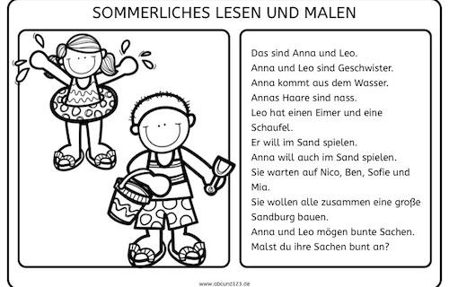 lesen ubuegen für kinder