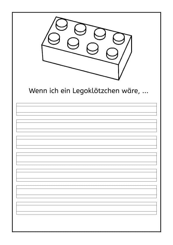 Lego, Schreiben, Schreibanlass, Legasthenie, kreativ, lego1
