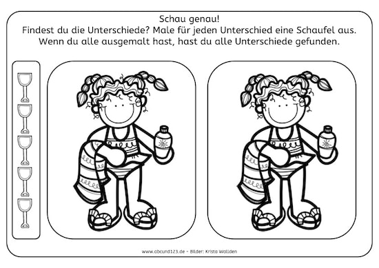 Schön Sommersaison Arbeitsblatt Für Kindergärten Galerie ...