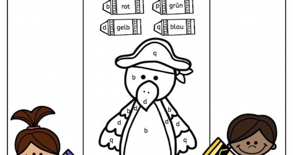 Piraten, Malen nach Buchstaben, b, d, p, q, Legasthenie, Dyskalkulie, Legasthenietraining, Dyskalkulietraining, Wahrnehmung, AFS-Methode, Malvorlagen, kostenlos, Lehrer, Eltern, Kinder, Grundschule, Förderschule, Arbeitsblatt