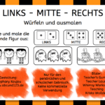 Links – Mitte – Rechts (Herbst-Halloween-Version)