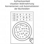 Buchstaben: Suchen und finden
