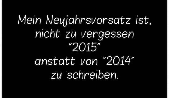 Neujahrsvorsatz