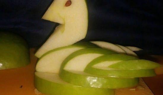 Apfelschwan