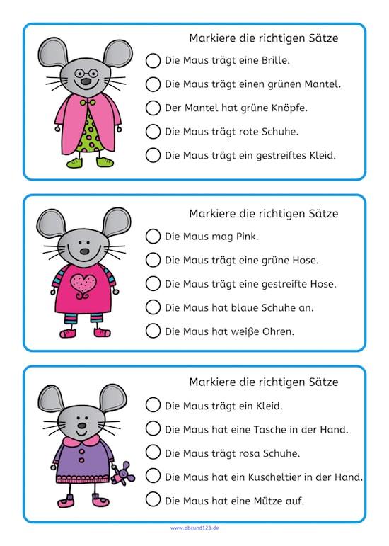 Lesen mit den Mäusen, lesen, Lesematerial, Download, Grundschule, Förderschule, Aufmerksamkeit, AFS-Methode, Legasthenie, lesen, LRS, Leseförderung, DAF, DAZ